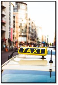 taxi meter cab