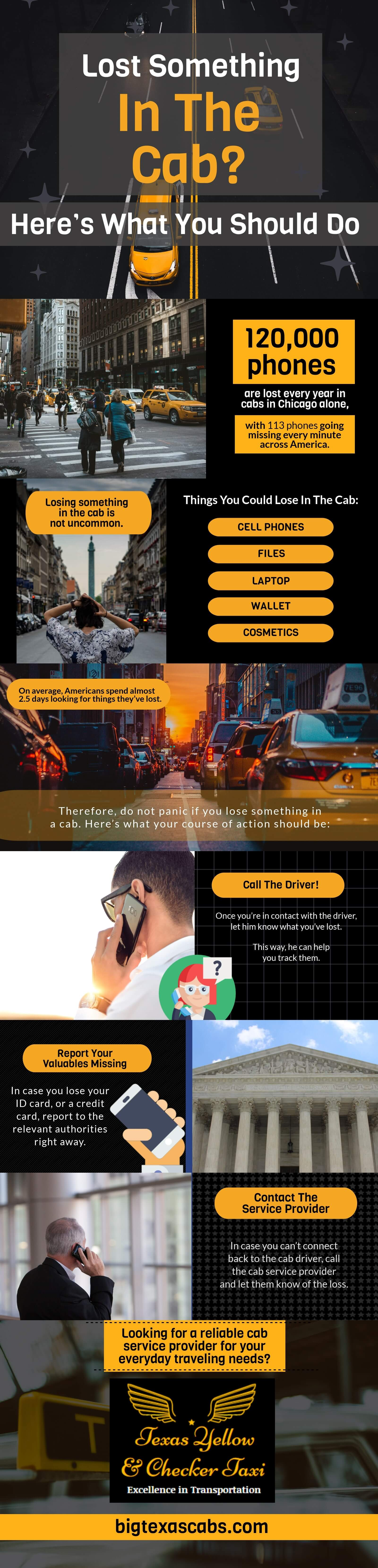 Lost Something In the Cab? Here's What You Should Do